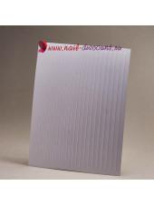 3D наклейки полосы для дизайна ногтей WHITE (гнутся)