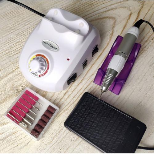 Аппарат для маникюра и педикюра ZS-603 (белый) в Казани
