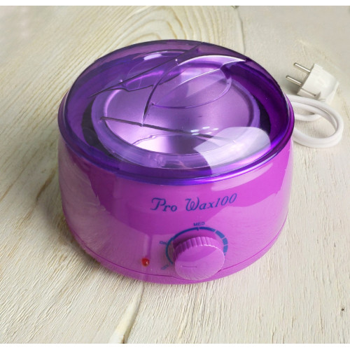 Воскоплав Pro Wax 100 (фиолетовый) для депиляции в Казани