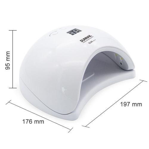 Лампа для сушки гель лака SunX1 Plus LED 48W (белая) в Казани
