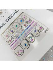 3D наклейки для дизайна ногтей №52