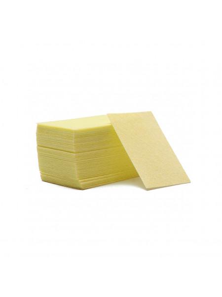 Салфетки безворсовые Твёрдые (жёлтые) упаковка 70шт.